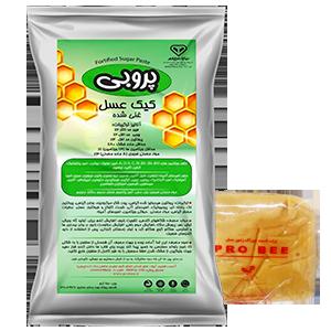 کیک عسل 1 کیلوگرمی پروبی _ غذای آماده زنبور