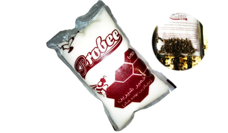 خمیر شیرین پروبی نیم کیلوگرمی | غذای زنبور