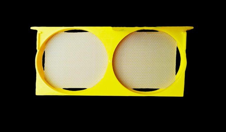قاب گرد پلاستیکی زنبورداری