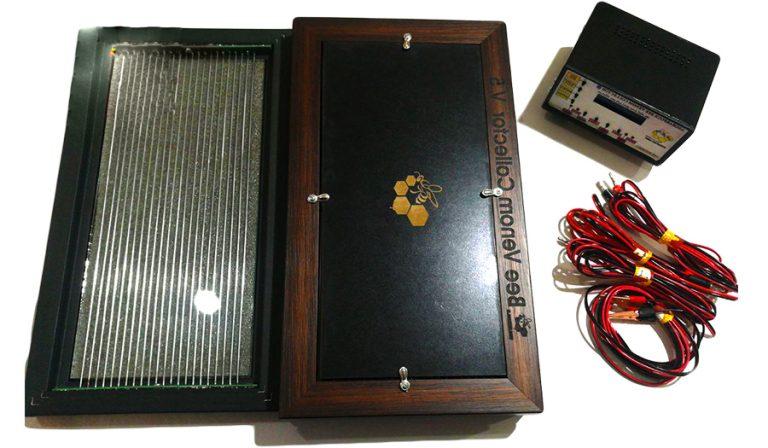 دستگاه زهرگیر زنبور عسل ۳ پنل
