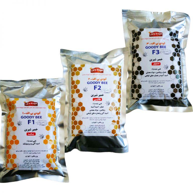 خمیر شیرین گودی بی F3 | خوراک زنبور عسل